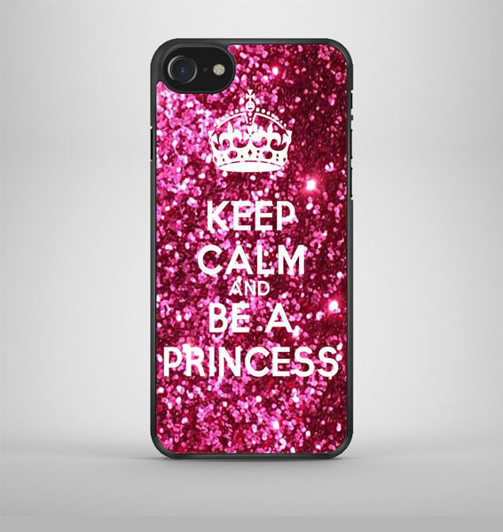 Keep calm and be a princess iPhone 7 Case Avallen