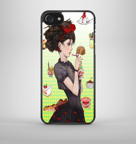 Kikis Delivery Service iPhone 7 Case Avallen