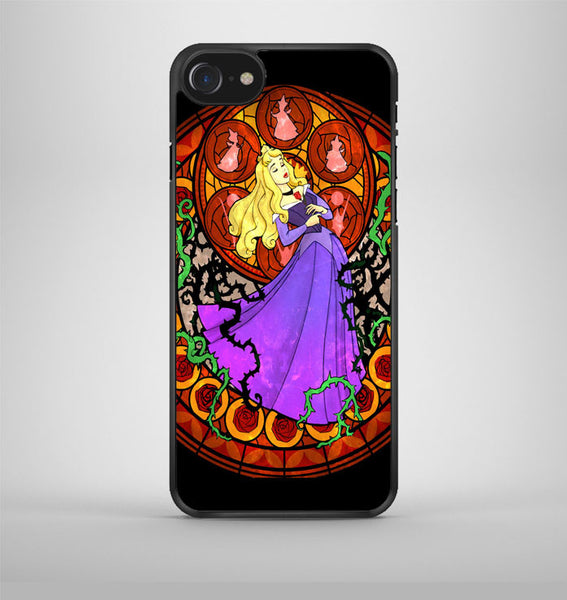 Kingdom Hearts Sleeping Beauty Stained Glass iPhone 7 Case Avallen