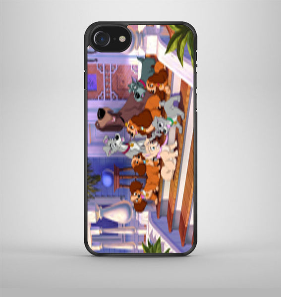 Lady And The Tramp Family iPhone 7 Case Avallen