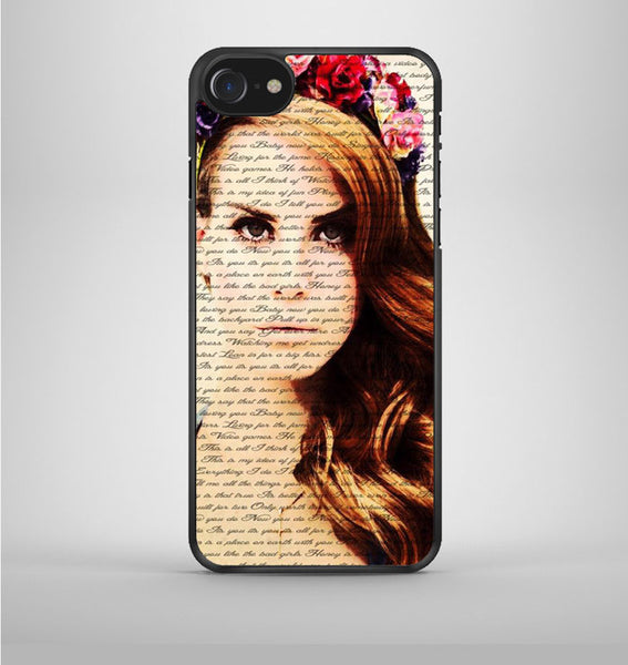 Lana Del Ray 01 iPhone 7 Case Avallen