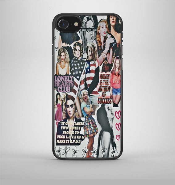 Lana Del Rey And Marina The Diamonds Collage iPhone 7 Case Avallen
