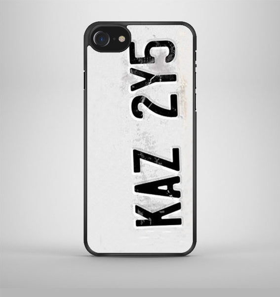 License Plate Supernatural iPhone 7 Case Avallen