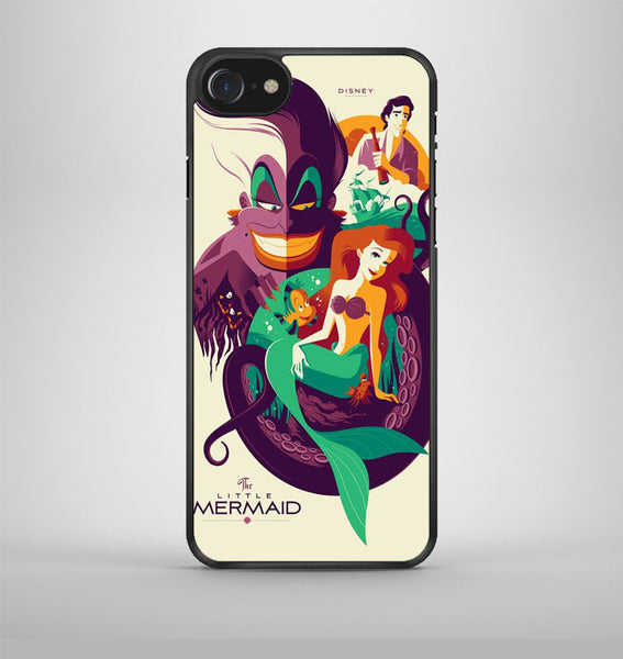 little mermaid zombie iPhone 7 Case Avallen