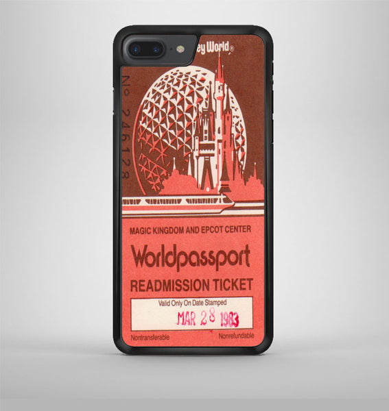 Logo Epcot Ticket 2 iPhone 7 Plus Case Avallen