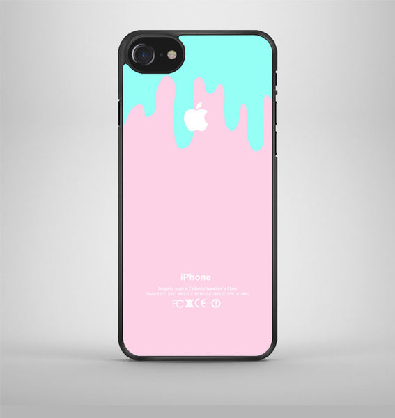Logo Pink Aqua Teal Pastel Ice Cream iPhone 7 Case Avallen