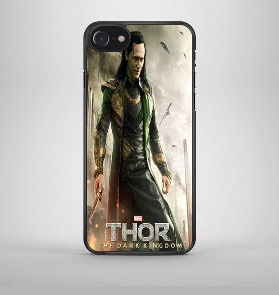 Loki Tom Hiddleston Collage iPhone 7 Case Avallen