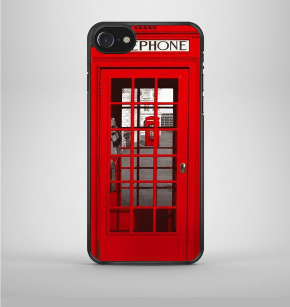 London Telephone Booth iPhone 7 Case Avallen