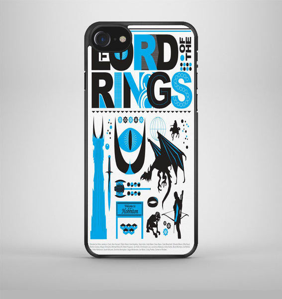 Lord Of The Rings Collage iPhone 7 Case Avallen