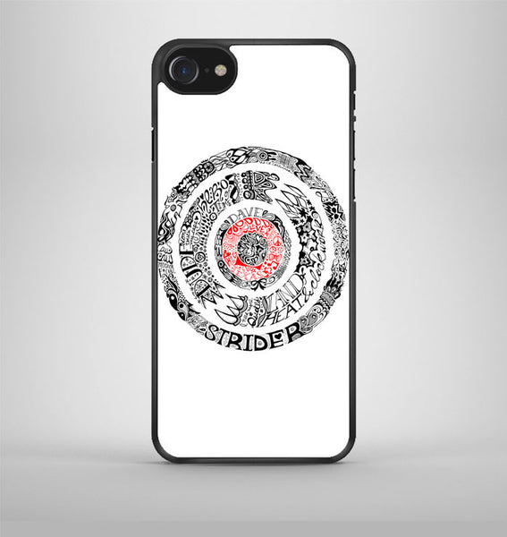 Lyric Dave Strider iPhone 7 Case Avallen