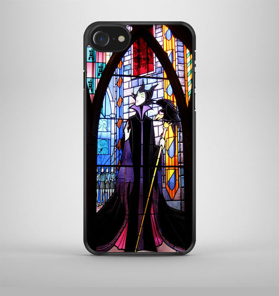 Maleficent in Stained Glass iPhone 7 Case Avallen