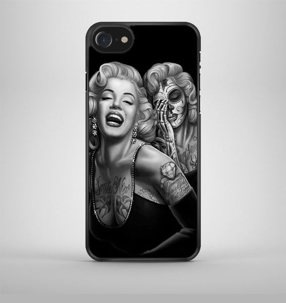 Marilyn Monroe Day Of The Dead iPhone 7 Case Avallen