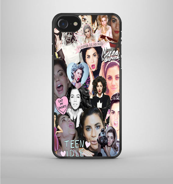 Marina And The Diamonds Collage iPhone 7 Case Avallen
