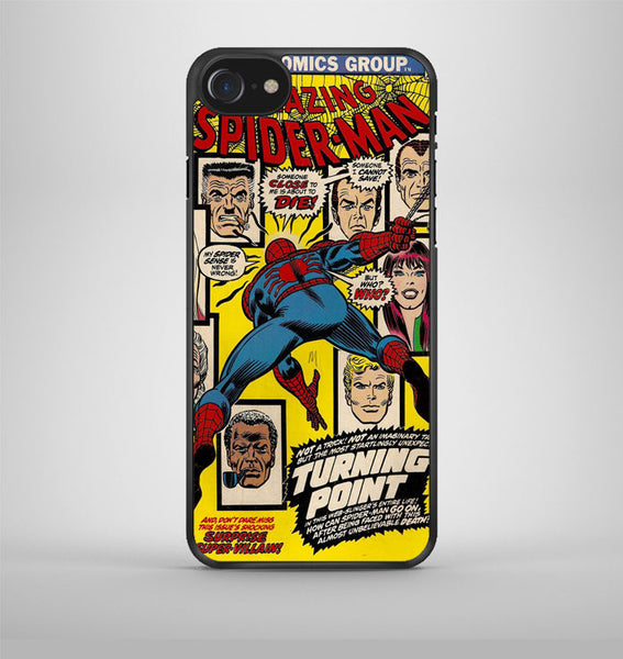 Marvel Comics The Amazing Spider man iPhone 7 Case Avallen