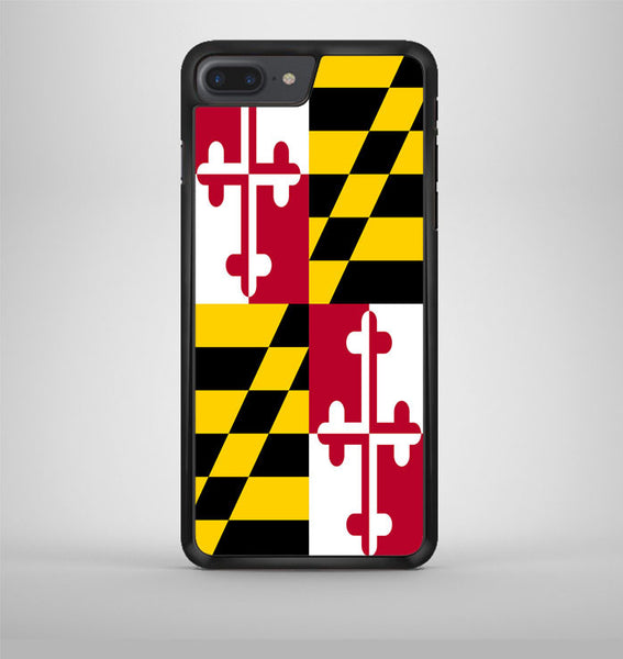 Maryland Flag iPhone 7 Plus Case Avallen