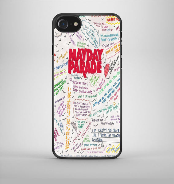 Mayday Parade Collage Watercolor iPhone 7 Case Avallen
