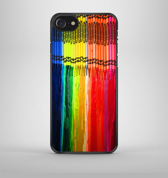 Melting Crayola Crayons iPhone 7 Case Avallen