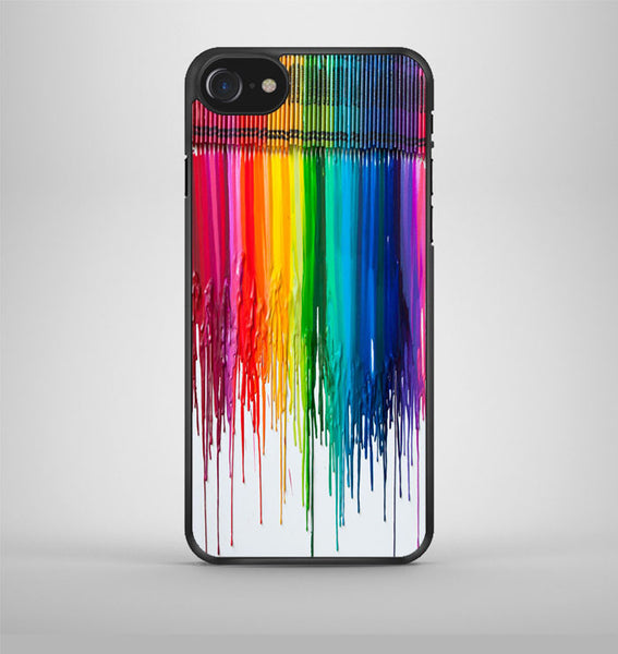 Melting Crayon Art iPhone 7 Case Avallen