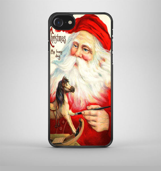 Merry Christmas My Busy Day iPhone 7 Case Avallen