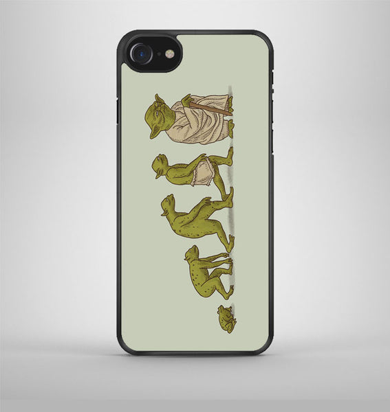 Metamorphosis of Yoda iPhone 7 Case Avallen