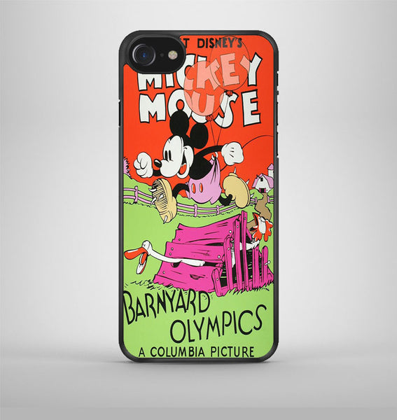 Mickey Mouse Barnyard Olympics iPhone 7 Case Avallen