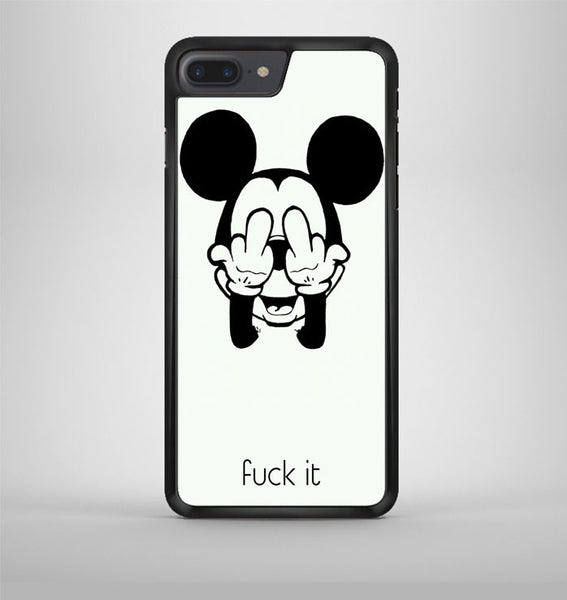 Mickey Mouse Says Fuck It iPhone 7 Plus Case Avallen