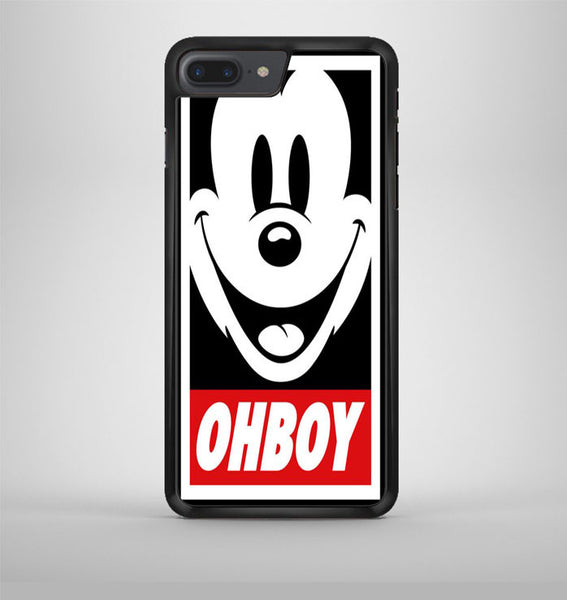 Mickey Mouse Disney Obey Ohboy Funny iPhone 7 Plus Case Avallen