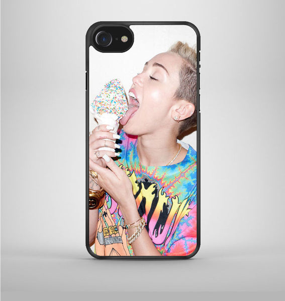 Miley Cyrus Ice Cream Lick iPhone 7 Case Avallen