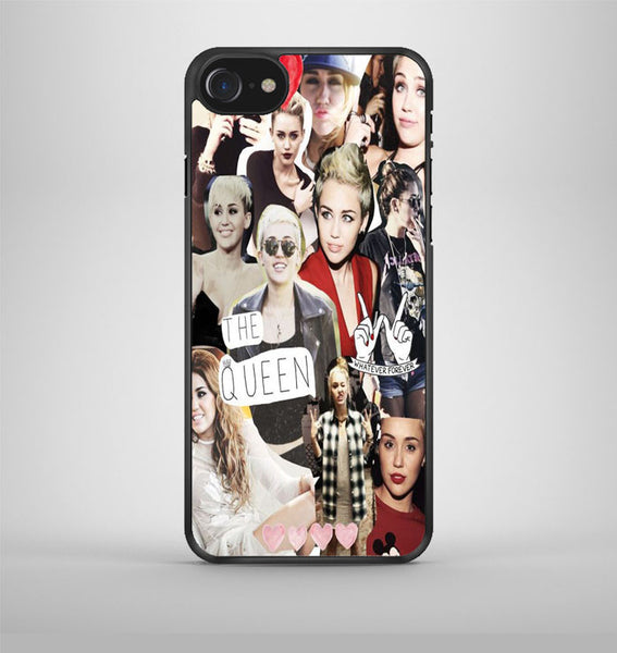 Miley Cyrus Collage Photo iPhone 7 Case Avallen