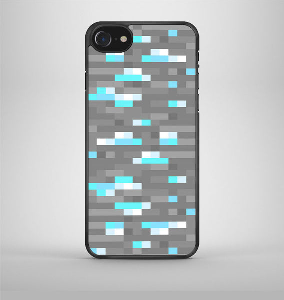 Minecraft Inspired Ore Diamond iPhone 7 Case Avallen