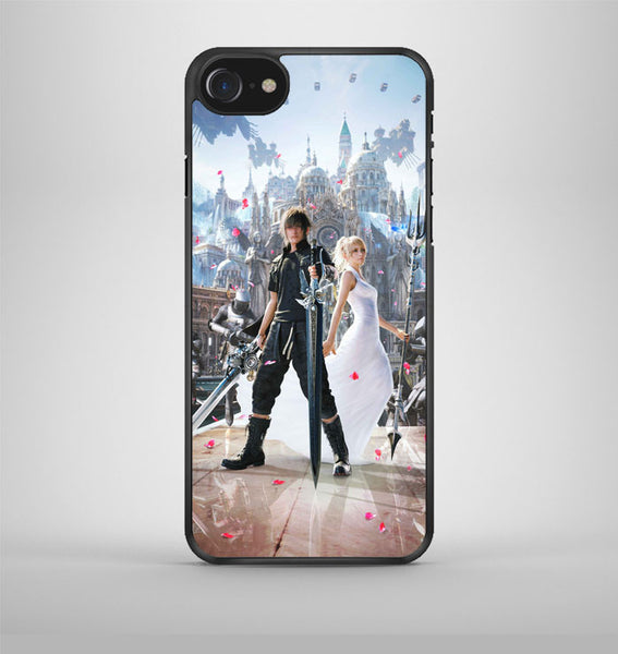 Noctis and Lunafreya FFXV iPhone 7 Case Avallen