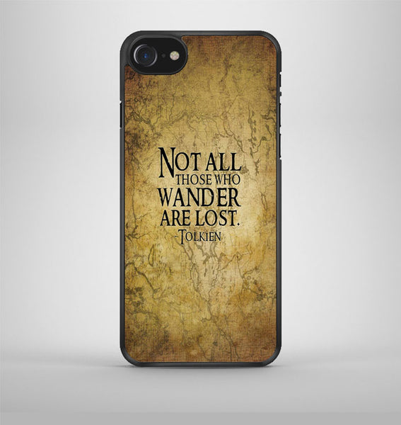 Not All Those Who Wander are Lost Tolkien iPhone 7 Case Avallen