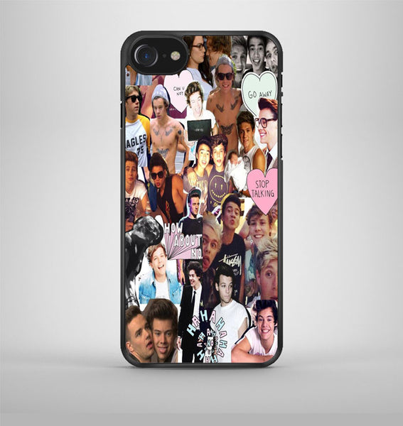 One Direction Black White iPhone 7 Case Avallen