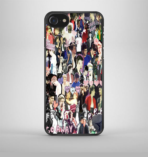 One Direction Collage Art 1 iPhone 7 Case Avallen