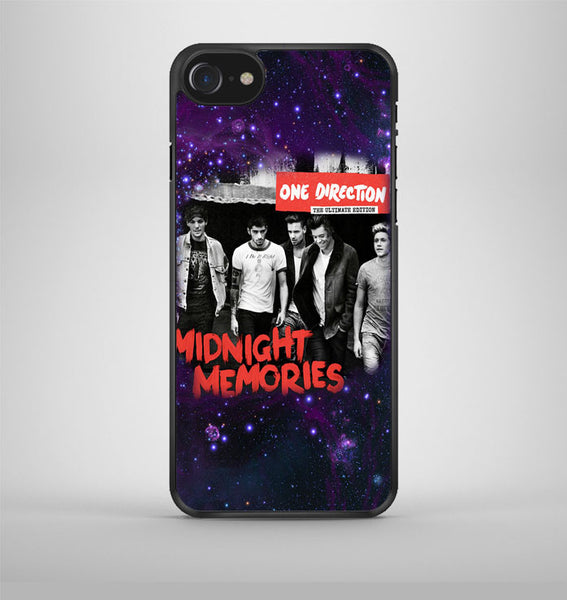 One Direction Midnight Memories Nebula iPhone 7 Case Avallen