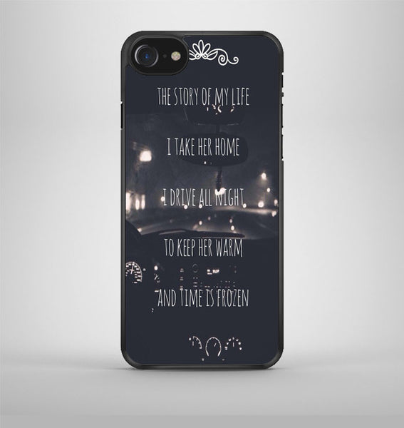 One Direction Story Lyric iPhone 7 Case Avallen