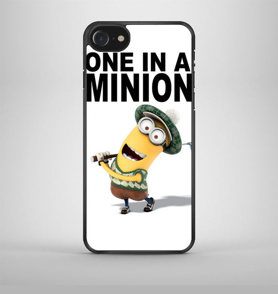 One In A Minion Despicable Me Minion Quote iPhone 7 Case Avallen