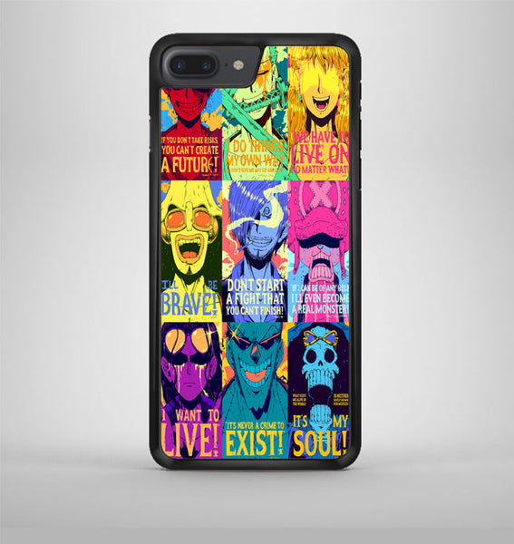 One Piece Poster iPhone 7 Plus Case Avallen