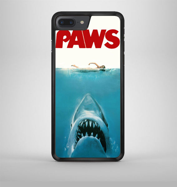 Paws Movie Parody Funny Cat Attack iPhone 7 Plus Case Avallen