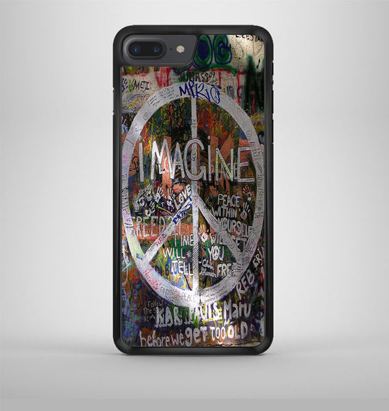 Peace Sign Graffiti 3 iPhone 7 Plus Case Avallen