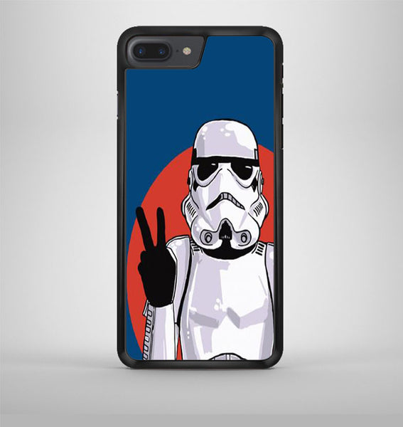 Peace Sign Storm Trooper Star Wars iPhone 7 Plus Case Avallen