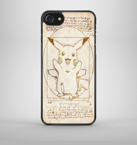 Pikachu Vitruvian iPhone 7 Case Avallen
