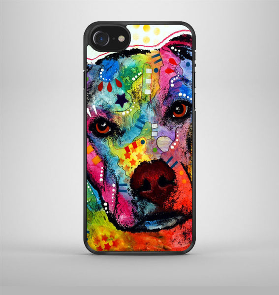 Pitbull Painting 4 iPhone 7 Case Avallen