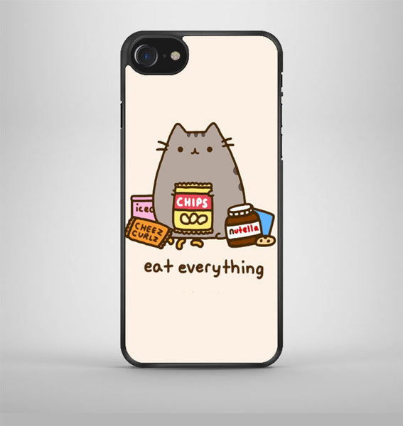 Pusheen The Cat Eat Every Thing iPhone 7 Case Avallen