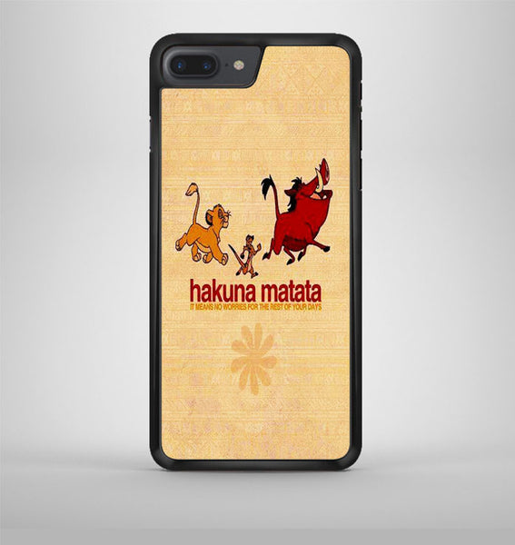 Quotes Hakuna Matata iPhone 7 Plus Case Avallen