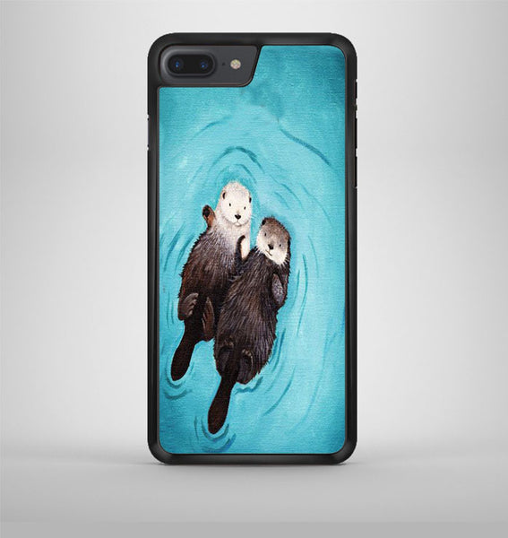 Romantic Swim Two Otterly iPhone 7 Plus Case Avallen