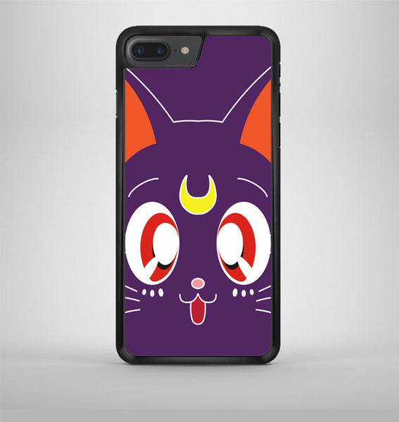Sailor Moon Luna Kawaii Cat iPhone 7 Plus Case Avallen