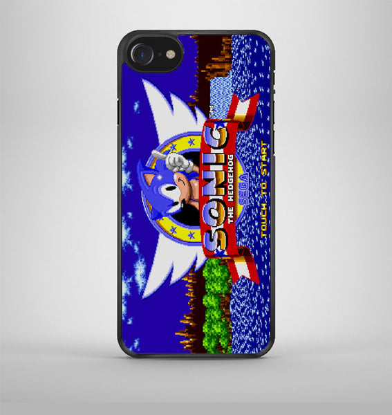 Sonic The Hedgehog Game iPhone 7 Case Avallen