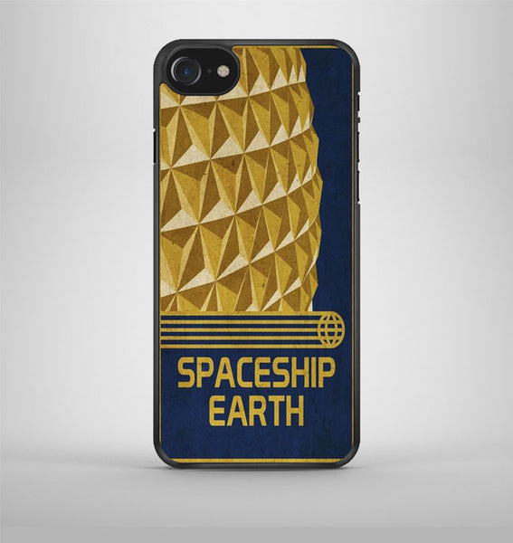 Spaceship Earth Epcot Poster iPhone 7 Case Avallen