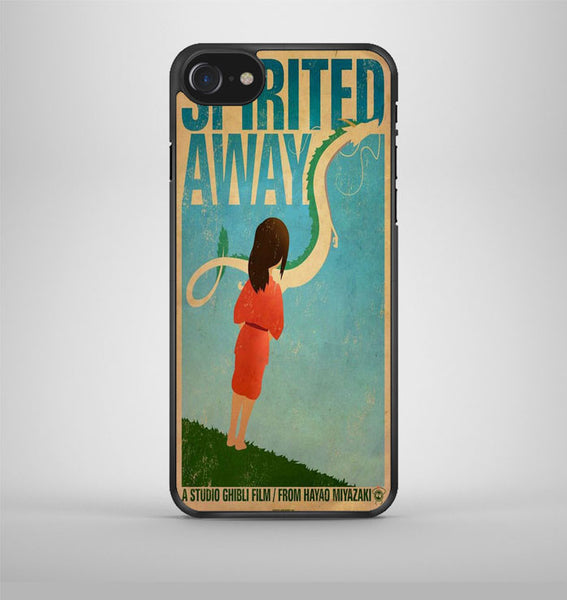 Spirited Away Retro Poster iPhone 7 Case Avallen